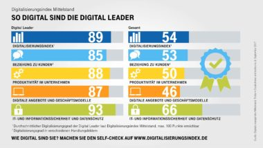 Infografik-Digitalisierungsindex-Digital-Leader-Indexwerte